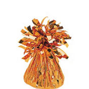 Orange Foil Balloon Weight 6oz
