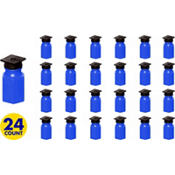 Grad Cap Royal Blue Bubbles 24ct<span class=messagesale><br><b>29¢ per piece!</b></br></span>