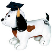 Graduation Autograph Dog 14in with Pen