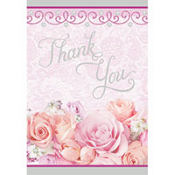 Blossom Thank You Cards 8ct