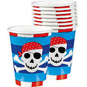 Pirate's Treasure Cups 8ct