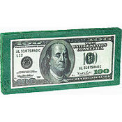 One Hundred Dollar Bill Pinata 24in