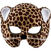 Brown Jungle Cat Mask Family
