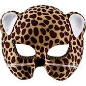 Brown Jungle Cat Mask