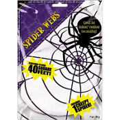 White Stretch Spider Web 0.7oz