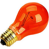 quick shop orange halloween light bulb - Halloween Light Bulbs