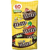 Milk Chocolate Fun Size M&M's Variety Mix 60ct