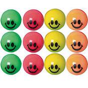 Smile Bounce Balls 12ct