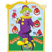 Clown Ring Toss Game