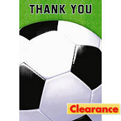 Soccer Fan Thank You Cards 8ct