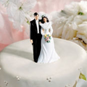 Lasting Love Wedding Cake Topper