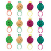Smile Bubble Rings 12ct