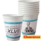 Plastic Super Bowl Cups 14oz 8ct