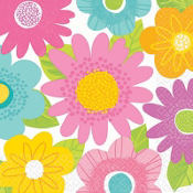 Spring Fling Lunch Napkins 16ct