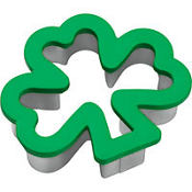 Shamrock Comfort Grip Cookie Cutter 4 1/2in