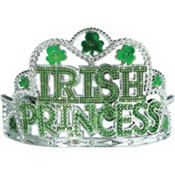 Irish Princess Shamrock Tiara