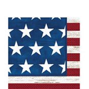 Americana Lunch Napkins 100ct