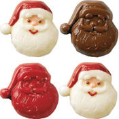 Santa Lollipop Mold