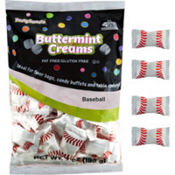 Baseball Pillow Mints 50ct