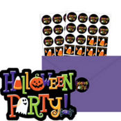 Happy Halloween Invitations Value Pack 20ct