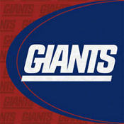 New York Giants Lunch Napkins 16ct