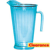 Cool Blue Plastic Pitcher 64oz