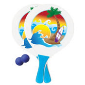 Beach Paddle Ball Set 4pc