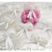Beautiful Bow Wedding Favor Ties 12ct