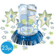 Carter Boy Baby Shower Centerpiece Kit 23pc