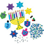 Hanukkah Foam Activity Kit