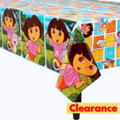 Dora and Friends Table Cover 54in x 96in