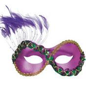Purple Persuasion Masquerade Mask