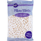 White Pillow Favor Candy Mints 3lbs