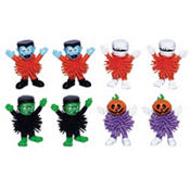 Halloween Wooly Figurines Value Pack 8ct