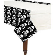 Midnight Dreary Plastic Table Cover 54in x 102in