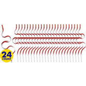 Christmas Krazy Straws 24ct 21¢ per piece!