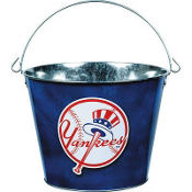 New York Yankees 5qt Metal Pail
