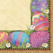 Easter Elegance Lunch Napkins 16ct