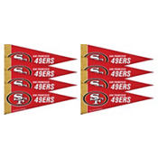 San Francisco 49ers Mini Pennants 8ct