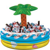 Inflatable Palm Tree Oasis Cooler 30in