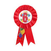 I Am 6 Award Ribbon
