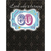 Sixty Invitations 8ct