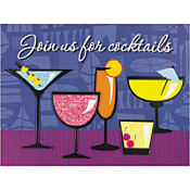 Party Drink Jumbo Invitations