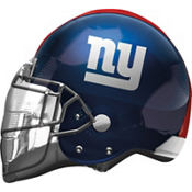 New York Giants Helmet Foil Balloon 26in