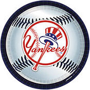 New York Yankees Lunch Plates 18ct
