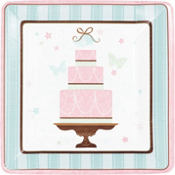 Blushing Bride Dinner Plates 18ct