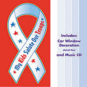 My Kids Salute Our Troops Music CD