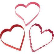 Heart Cookie Cutter Set 3ct