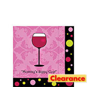 Mommy's Sippy Cup Beverage Napkin 20ct