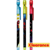 Spiderman Pop Up Pencils 3ct